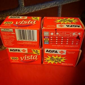 Agfa Vista 200 (Agfa-Gevaert, Pre 2006)