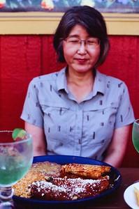 Chiyoko at Agave Azule - 2021/07/17   Olympus OM2   Velvia 100