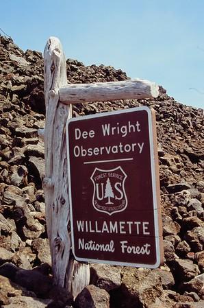 McKenzie Pass, Dee Wright Observatory  - 20210725   Olympus OM2   Velvia 100