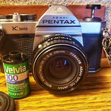 Velvia 100: 5 rolls, 5 cameras, 1 month. I Pentax K1000