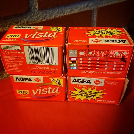 Agfa Vista 200 (True Agfa Film, Pre 2006)