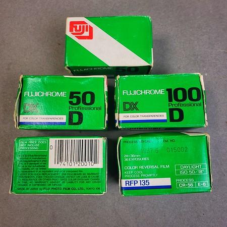 Fujichrome 50 & 100D
