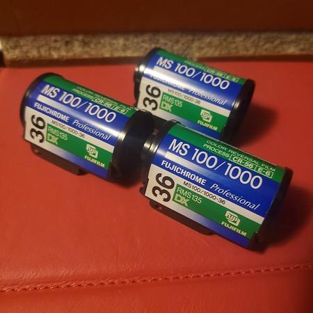 Fujichrome MS 100 / 1000