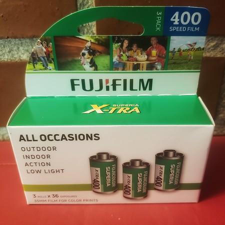 Fujicolor Superia X-TRA400