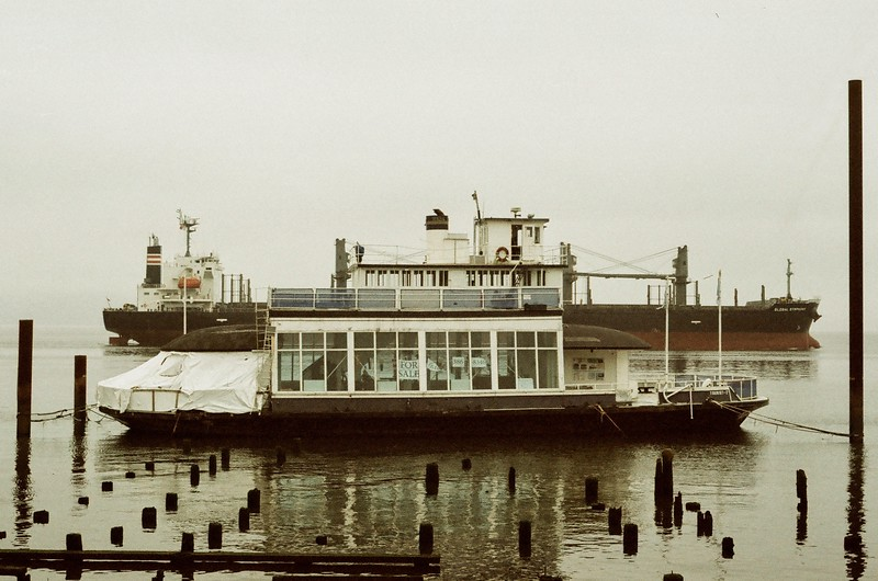 Last of the Megler - Astoria Ferry Boats - Tourist #2