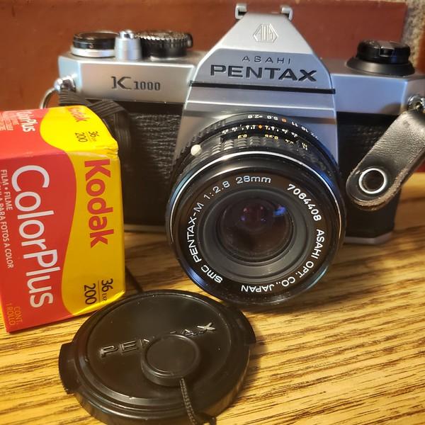 Buckman with a Pentax K1000
