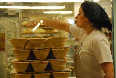 Chelsea Market: bread baker