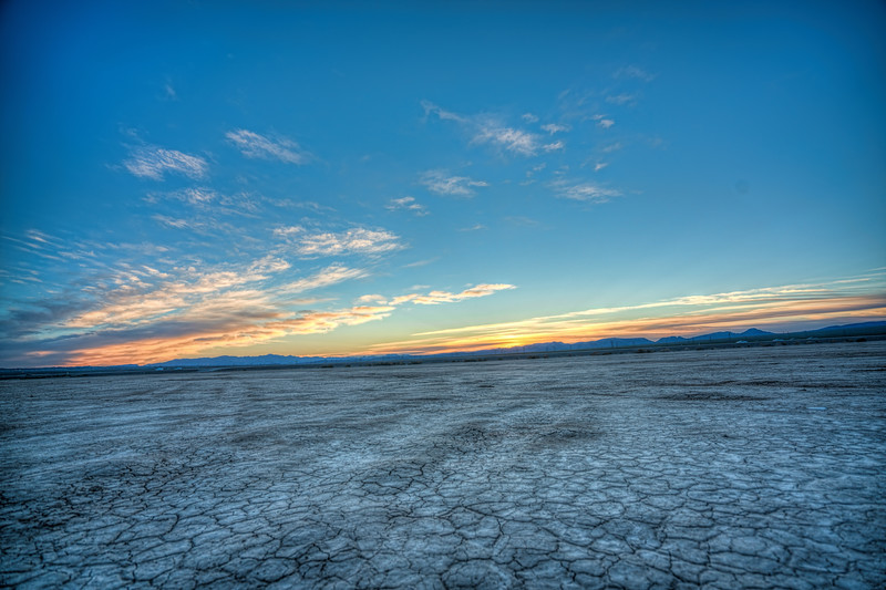 Lakebed Sunrise