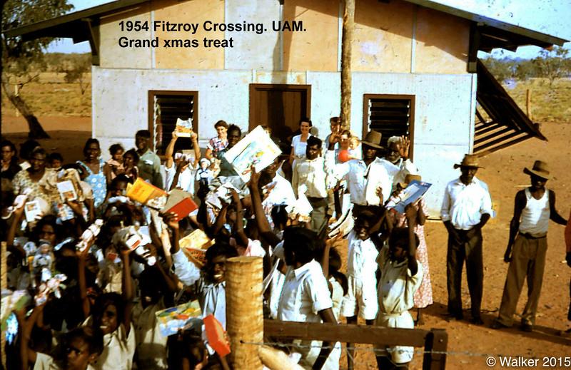 1954 Fitzroy Crossing. UAM.  xmas treat.