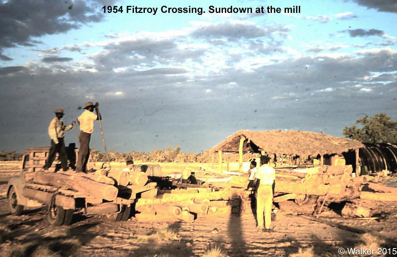 1954 Sundown at the mill