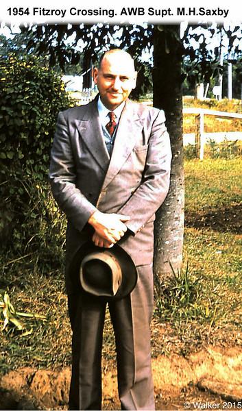 1954 Fitzroy Crossing. AWB Supt.