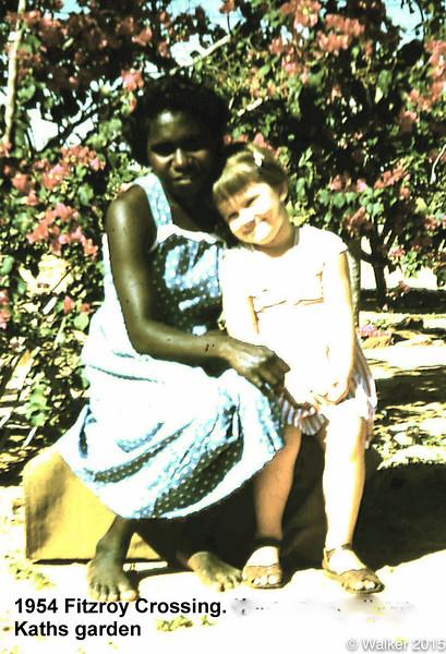 1954 Amy and Kathleen