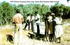 1976 Fitzroy Crossing. River side. Pastor Bob Nunyea. Baby funeral.