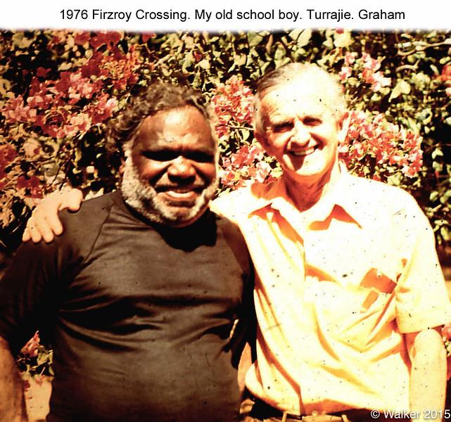 1976 Firzroy Crossing. Turrajie. Graham.