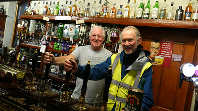 Very kind Roger at Ratty Arms