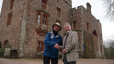 Meeting Peter Frost Pennington at Muncaster castle