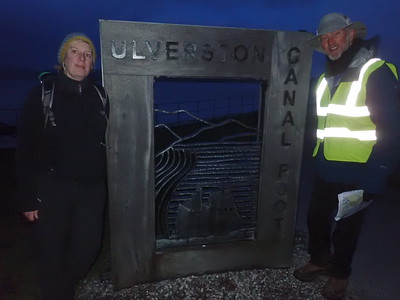 Arrival in Ulverston