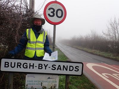 Walkign to Burgh by Sands
