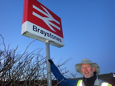 Today, Brian starts from Braystones