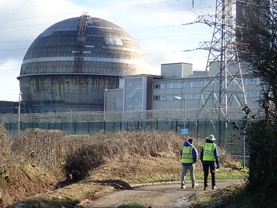 Walking to Sellafield