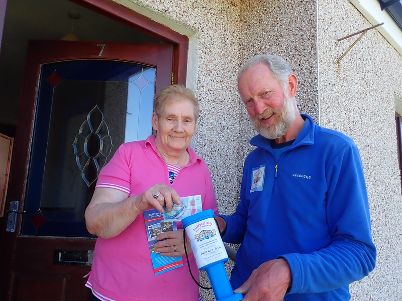 A donation to Bluebell Bus