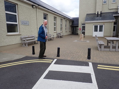Brian at Bantry Hospital for a foot check!