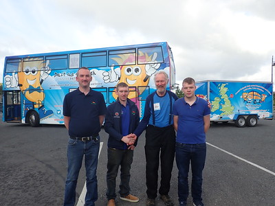 Fantastic support from everyone at Bus Eireann supplying all the fuel