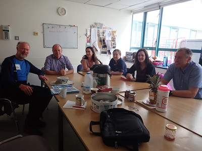 A meeting at Galway Hospital