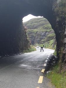 Caha Mountains, through the tunnels into Co.Cork.