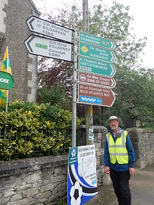 Brian arrives in Kenmare