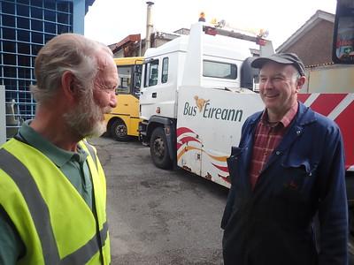 Brian with Engineer Operative John Savage