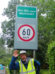 Arrived in Ballylickey at 5pm. Whoopee!