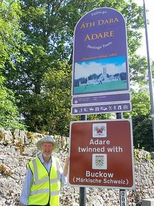 Adare- a small village in County Limerick