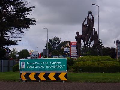 Walkign to Ballyseedy