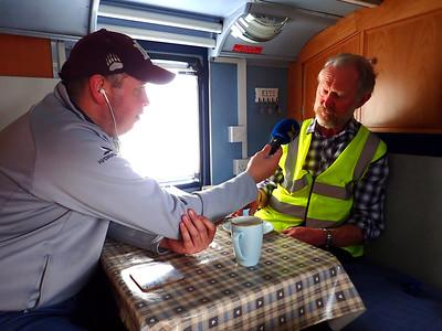 Jerry O`Sullivan, Radio Kerry, meets Brian!