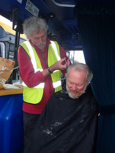 Barber for 30 years, David Parker travels to Tralee!