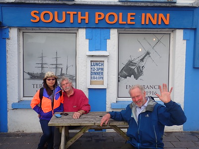 The South Pole Pub in Annascaul