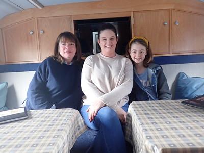 Joanne Carroll, Marisa Reidy, Aine MacSweeney - From Recovery Haven, Kerry.