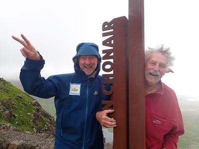 Brian, Fan and David reach Mount Brandon