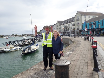 Brian and Cheryl in Dungarven