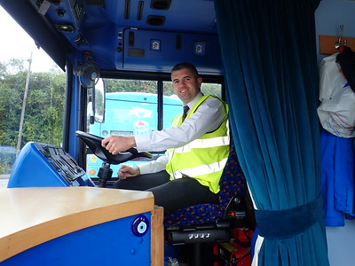 John Field from Cork Depot, thank you for driving Bluebell