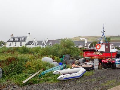 Views along the Waternish road  at Trumpan