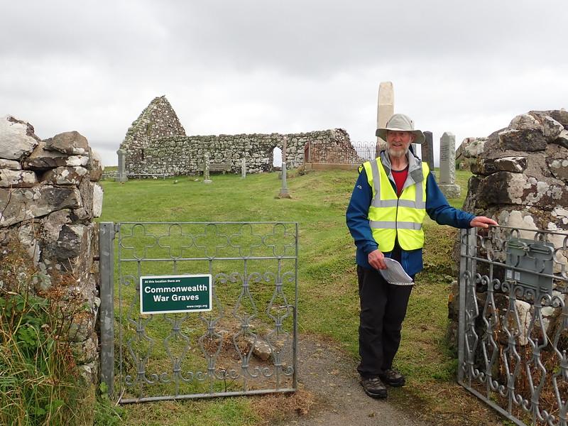 Ruins of an ancient church