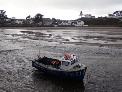 Abersoch Harbour at low tide