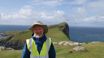 Brian Burnie at Neist Point