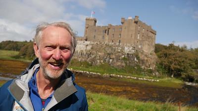 Brian Burnie at Dunvegan Castle