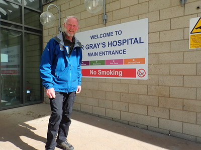 Brian at Dr Grays Hospital