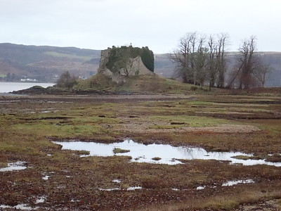 Ruins of the original medieval Castle Lachlan