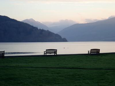 Sunrise over Loch Fyne