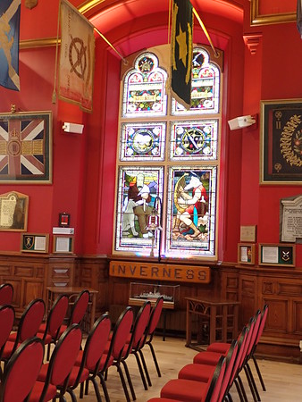 The beautiful Inverness Town House